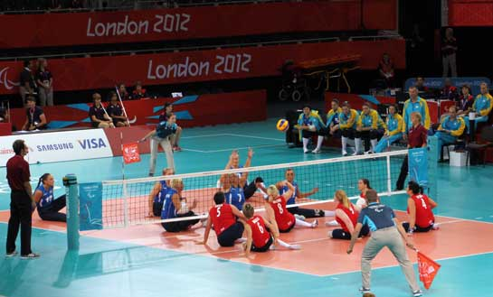 Seated-Volleyball